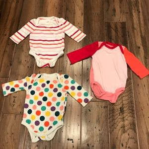 Gap - Baby Girl Onesies - Set of 3